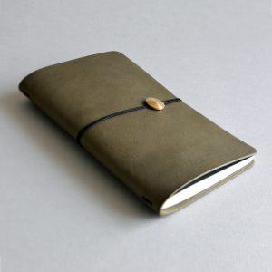 NOTEBOOK 夢想筆記本・OLIVE GREEN橄欖綠-封面- 本相造物所selfportrait