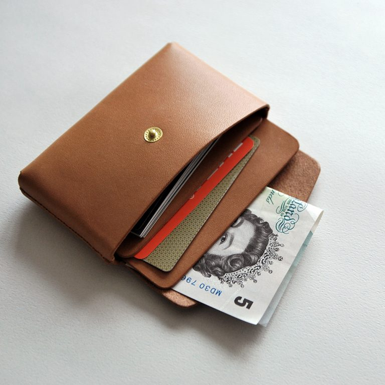 CARD HOLDER 合手名片夾・BROWN棕-封面- 本相造物所selfportrait