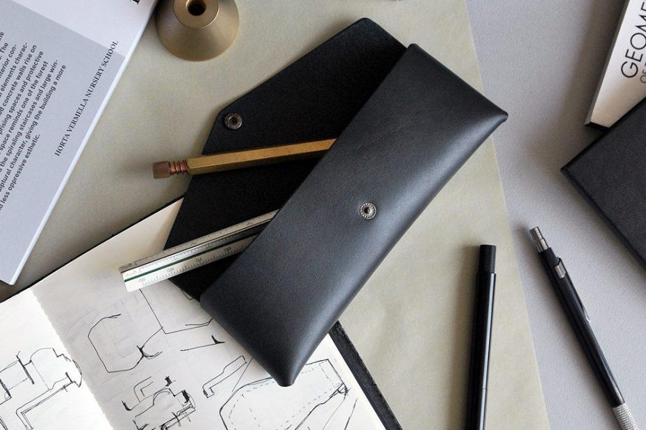 EN CASE 極簡小筆袋・BLACK黑 -封面- 本相造物所selfportrait