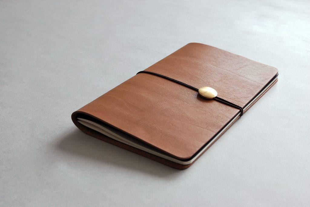 02NOTEBOOK夢想筆記本・BROWN棕色-本相造物所selfportrait