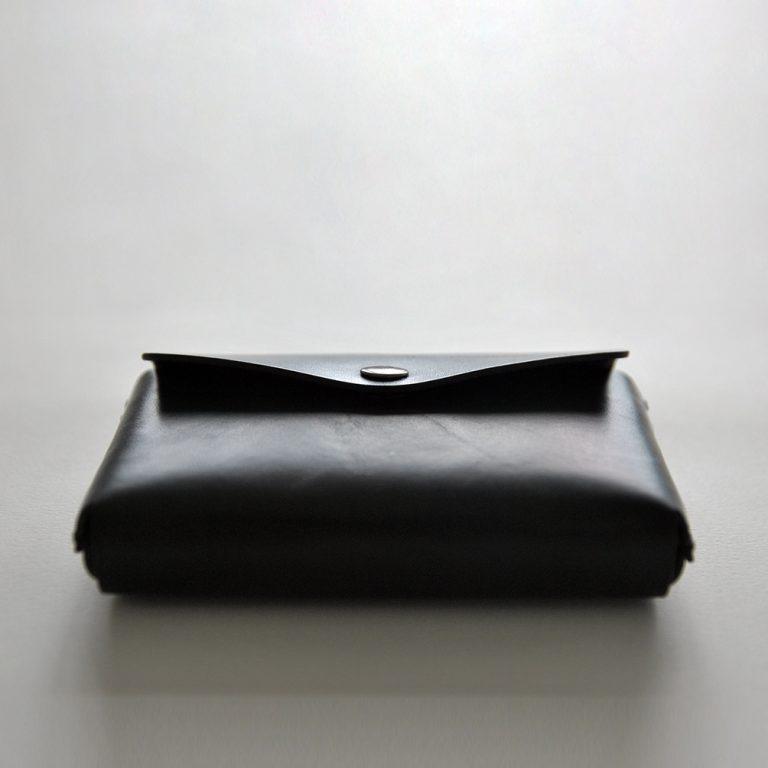 CARD HOLDER 合手名片夾・BLACK黑-封面- 本相造物所selfportrait