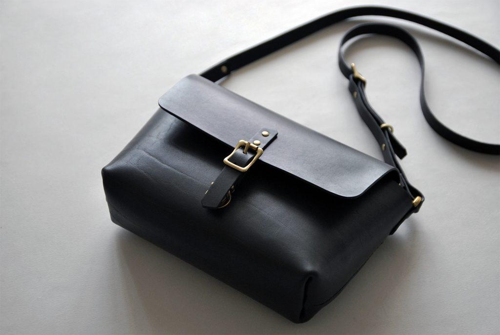 01S-SATCHEL BAG 極簡小方包・BLACK黑-本相造物所selfportrait