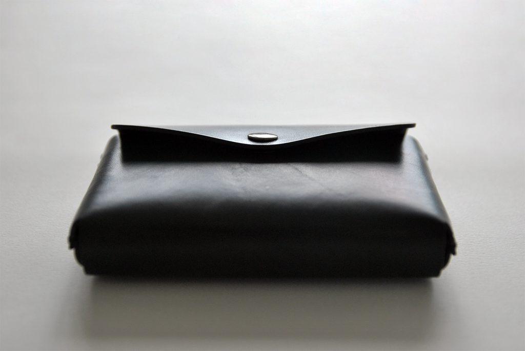 01CARD HOLDER 合手名片夾・BLACK黑-本相造物所selfportrait