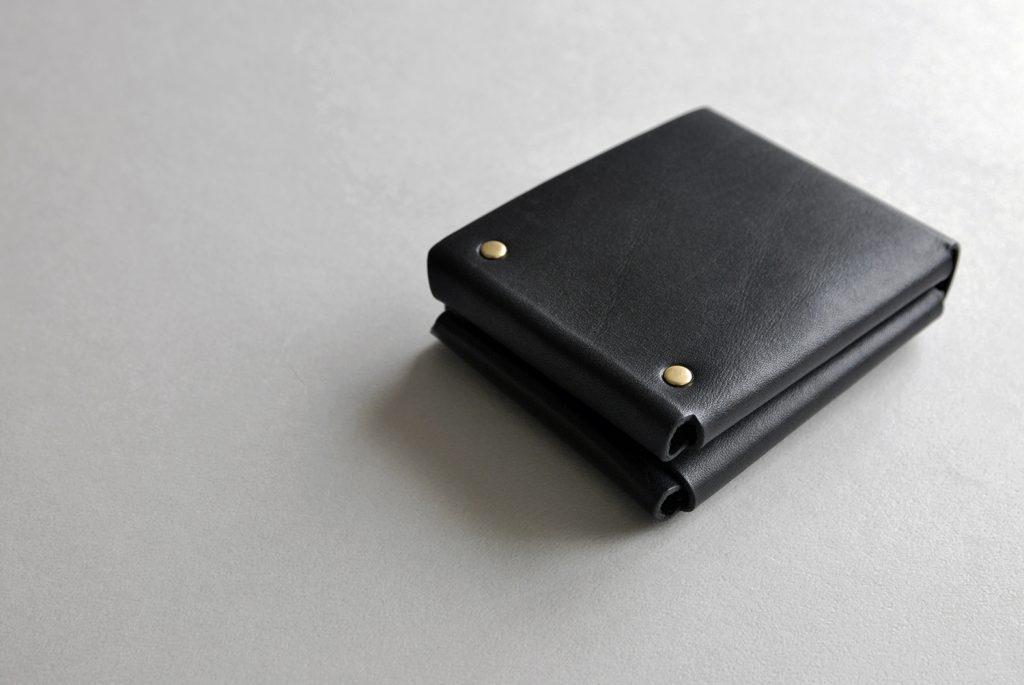 01CUBE WALLET 方塊厚短夾・BLACK黑-本相造物所selfportrait