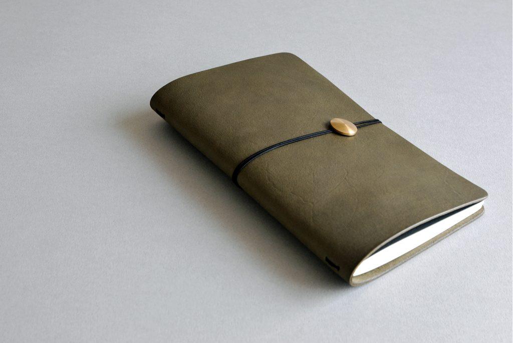 01NOTEBOOK夢想筆記本・OLIVE GREEN橄欖綠-本相造物所selfportrait