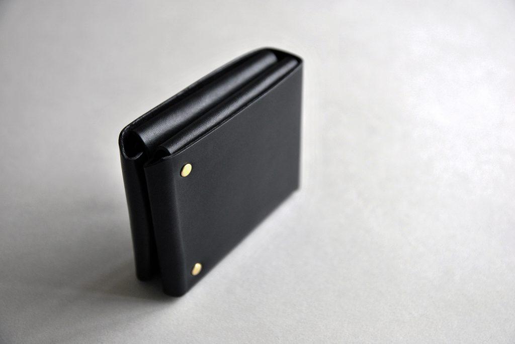 02CUBE WALLET 方塊厚短夾・BLACK黑-本相造物所selfportrait