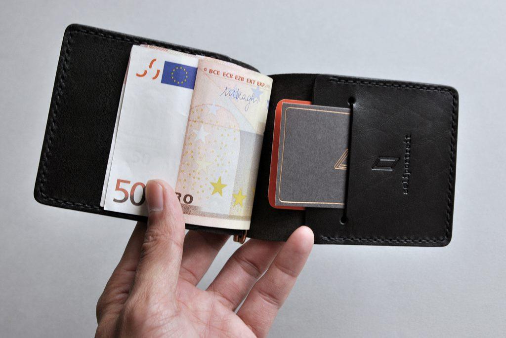 03CLASSIC WALLET經典鈔票夾-BLACK黑色-本相造物所selfportrait