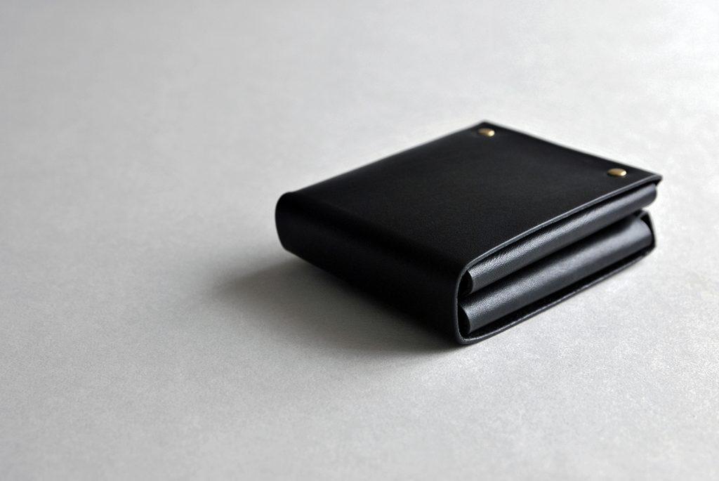 03CUBE WALLET 方塊厚短夾・BLACK黑-本相造物所selfportrait