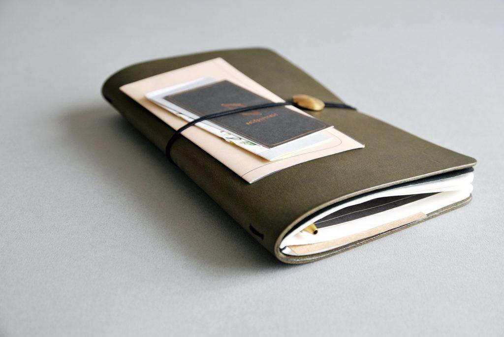 07NOTEBOOK夢想筆記本・OLIVE GREEN橄欖綠-本相造物所selfportrait
