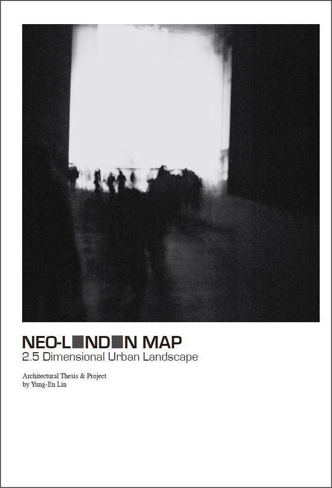 PUBLICATIONS/Books 書籍出版-NEO-LONDON MAP書本封面- 本相造物所selfportrait